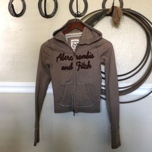 ABERCROMBIE AND FITCH zippy hoodie